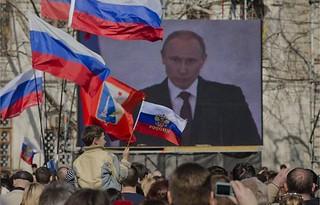 普京强硬对抗西方的代价