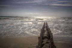 Sunny Blavand shore (Explore) (blavandmaster) Tags: light sunset sea sky sun colour reflection beach natur