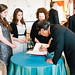 Toyo Ito signs the Monticello guestbook