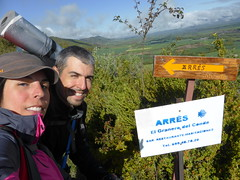 Que ya llegamos a Arrés (TiempoDeAventuras.com) Tags: santiago camino etapa21 arres