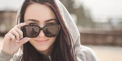 墨镜 (codyblue_) Tags: portrait hot cute sexy beach girl sunglasses 50mm tahoe shades