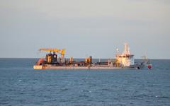 AL-IDRISI (The Beach-Maker)  Rhos on Sea 260414 (24082CH) Tags: shipping rhosonsea dredger northwales alidrisi