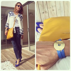 Hoy en el blog/ today on http://ift.tt/26QadkZ instafamily!!!!#elblogdemonica #lookoftheday #outfitoftheday #inspiration #trendy #streetstyle #denim #boho #bohochic #comfy #fashionblogger #blogdemoda #fashion @be_jewelry #furla (elblogdemonica) Tags: hat fashion shirt bag happy shoes pants details moda zapatos jacket trendy tendencias looks pantalones sombrero collar camiseta detalles outfits bolso chaqueta pulseras mystyle basicos streetstyle sportlook miestilo modaespaola blogdemoda springlooks instagram ifttt tagsforlike elblogdemonica