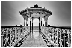 wet morning (Alex Harbige) Tags: brighton bandstand