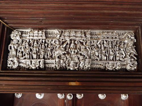 Carving, Chettinad Mansion, Kanadukathan
