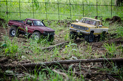 Leaf Spring Run (Strangely Different) Tags: scale hobby rc radiocontrolled crawler axial youtube tinytrucks gelande trailfinder scx10 rceveryday
