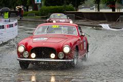 Europa GT (AureilFerrari) Tags: auto car rain canon eos automobile pluie automotive voiture number coche chassis srie serial mille miglia numro wagen 60d worldcars aureil teilaio