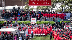 Rise to the seat of powers (kuntheaprum) Tags: graduation commencement tamron bostonuniversity