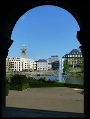 Mlheim - Ruhr (abudulla.saheem) Tags: germany deutschland lumix waterfront cityhall panasonic nrw townhall rathaus ruhr ruhrgebiet stadthalle ruhrarea ruhrpott mlheim riverruhr ruhrbania abudullasaheem dmctz31 ruhrpromenade