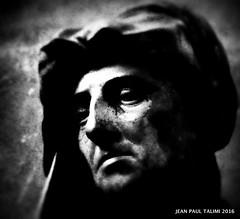 Penses de pierre (JEAN PAUL TALIMI) Tags: texture statue troyes solitude noiretblanc champagne ville vieux visage silouettes talimi