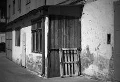 Praktica BC1 - Old Place (Kojotisko) Tags: bw brno creativecommons czechrepublic rodinal yellowfilter ilfordpanfplus prakticabc1 prakticabc1electronic prakticar118f50mm