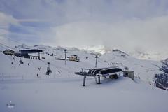 Base of Gifthittli (A. Wee) Tags: mountain alps switzerland skiresort zermatt chairlift  sesselbahn  gifthittli