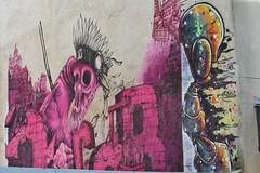 MG Eta + Rosh_2232 rue des Trois Couronnes Paris 11 (meuh1246) Tags: streetart paris dragon animaux rosh crne paris11 canniballetters mgeta ruedestroiscouronnes