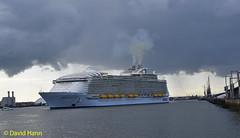 "Southampton  "" Harmony of the Seas"". (davidhann34016) Tags: docks southampton royalcaribbean westerndocks harmonyoftheseas"
