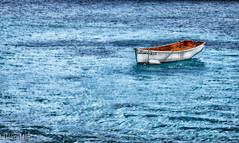 Lonesome Boat (HarryMiller002) Tags: ocean boat caribbean bonaire