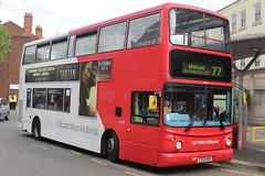 National Express West Midlands Volvo B7TL/Alexander ALX400 4304 (ST02 MZU) (Walsall) (john-s-91) Tags: walsall 4304 volvob7tl alexanderalx400 nationalexpresswestmidlands st02mzu thelegendoftarzan walsallroute77 bu51ryn