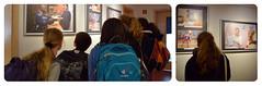 Am 25. Mai besichtigte eine Projektgruppe der Hundertwasser-Gesamtschule Rostock die Ausstellung Kluge Kpfe - geschickte Hnde: MigrantInnen in MV Teil II. migra-Kollegin Sabine Wollenhaupt leitete die Fhrung und gab Einblicke in die Vereinsarbeit. (migra e.V. Rostock) Tags: ausstellung besichtigung fhrung hundertwassergesamtschule annafilatova