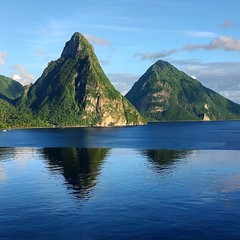 Pitons - Saint Lucia (Lonfunguy) Tags: unesco pitons saintlucia