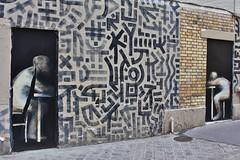 Philippe Hrard + Tetar_1292 rue Carrire Mainguet Paris 11 (meuh1246) Tags: streetart paris paris11 tetar philippehrard ruecarriremainguet