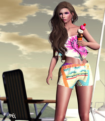 ~131~ Ice Cream Girl (Ana ~ Fashion Graffiti Blog) Tags: fashion logo secondlife ikon dela cae slink yogaposes zibska we3roleplay 7deadlys{k}ins cosmopolitanevent {zoz} themakeoverroom shinyshabby rirlifedesign summerfest16