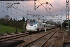 Ms Sern (JMTrigos) Tags: train tren atardecer railway asturias gijon jmt renfe trigos asturies 2016 serin sern alvia jmtrigos