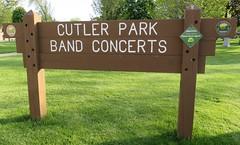 Cutler Park Sign (Waukesha, Wisconsin) (courthouselover) Tags: wisconsin waukesha wi waukeshacounty milwaukeemetropolitanarea