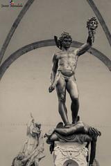 Perseo de Cellini (J. Moraleda) Tags: portrait italy sculpture art statue florence italia arte retrato escultura florencia firenze toscana medusa statua perseus tuscan piazzadellasignoria loggiadeilanzi virado toning mithology mitologa perseo