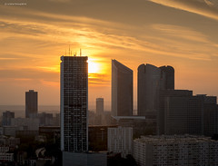 La Dfense , Nanterre (Julianoz Photographies) Tags: city sunset france architecture buildings europe ledefrance cityscape nanterre cit btiment 92 ville hlm idf coucherdesoleil ladfense pablopicasso immeubles socitgnrale toursaillaud nikond610 districtquarter julianozphotographies