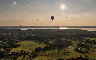 Kiel week 2016 -  Hot air ballooning I