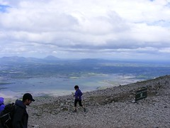 Croagh Patrick overlooking Clew Bay (braveheart1979) Tags: island mayo westport achill clewbay croaghpatrick greenway record3speed