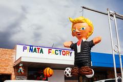 Donald Trump Pinata (aemerybrown) Tags: street arizona portraits fuji tucson donald trump provia piata vsco aemerybrown tucsonstreetportraits