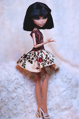 Monster High Cleo De Nile (Trotilla) Tags: handmade 2012 27cm 201203 monsterhigh cleodenile