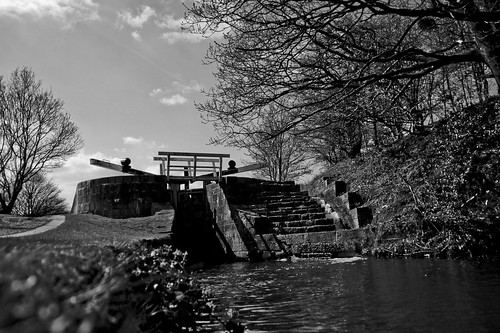 high lock b&w