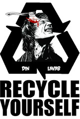 Din Lavab Recycle Yourself (SKAM sticker) Tags: streetart oregon portland graphic stickers philosophy pollution pdx poison recycle awareness din motherearth culturejamming 2012 shockandawe artintervention skam 2011 changeyourlife overconsumption breakingthecycle anticommercialism artjamming entireplanet ecosystemdestruction skamsticker recycleyourself lavab overpopulationcampaign hyperviolenceandeducation killingoneself ultragreenmovement opencommunicationaboutthedamagewehavedone the6thmassextinction creativecollaborationproject invokingemotion humansresponsibiltytotheplanet killingplanetearth antihavingkids themostimportant10yearsoftheplanetarerightnow recycleyourselfcampaign abusetoourplanet byproductoftheindustrialrevolution pillageandrape nofishinthesea nobirdsinthesky changeyourmindset plasticwrappedcorspes