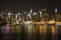 New York City Skyline (Jemlnlx) Tags: new york city nyc 3 ny west skyline canon lens eos boulevard zoom mark iii nj jfk east sp jersey 5d af tamron f28 xr weehawken 2875mm