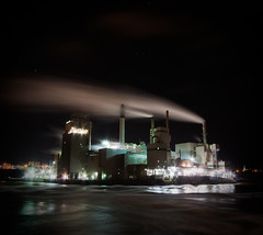 Irving Pulp Mill (Chris Parent Photography) Tags: new chris mill saint night john long exposure photographer smoke christopher brunswick parent photograph irving pulp halifax