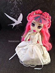 Monster High Rochelle Goyle (Nataloons) Tags: fashion monster high doll dress handmade gargoyle etsy mattel rochelle goyle explored monsterhigh deisdollhouse rochellegoyle