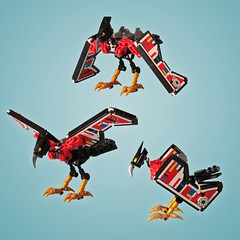 Commission: Laserbeak (retinence) Tags: bird robot lego technic transformers mecha laserbeak