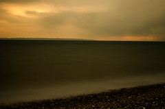 DSC_0610 (Mark J Hall) Tags: longexposure sunset sea seascape clouds hampshire slowshutter gosport stokesbay thesolent bw10stopndfilter 35mmdx nikond7000