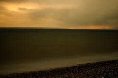 DSC_0610 (Mark J Hall) Tags: longexposure sunset sea seascape clouds hampshire slowshutter gosport stokesbay thesolent bw10stopndfilter 35mmdx nikond7000