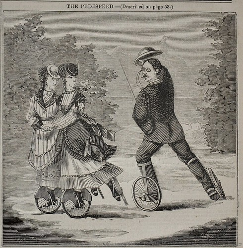 The Pedespeed - English Mechanic 1870