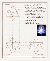 MRKBH Orthographic Projection--Mark Longo (Mark Longo Art & Design) Tags: tetrahedron seraphim technicaldrawing multiview merkabah merkavah orthographicdrawing orthographicprojection marklongo ascensionvehicle mrkbh seraphicaction mysticalconveyance multivieworthographic