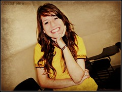 Big smile :D (Carolinagz) Tags: friends people eye love colors girl smile pose cool women couple photographer hand heart sweet country happiness guys teen naturalbeauty effect inlove peoplehavefun