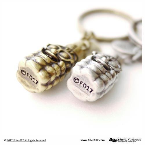 Filter017 X TREX 3D POPCORN KEY CHAIN 限量玉米人鑰匙圈