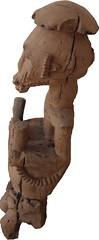 King Oron (Left View) (Art D'Afrique) Tags: africa wood art statue sticks artwork hands king object nigeria objet mains oeuvre bois roi afrique oron mystics btons mystiques bibolo