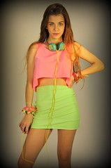 (azulramos) Tags: portrait fashion studio design neon photoshoot fashionphotography models makeup headphones fluor fluo fashionphotoshoot