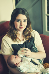 (Lisa Askew) Tags: baby milk bottle mother mum newborn feed 1monthold