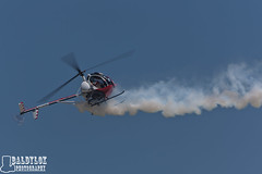 Otto the Helicopter (Baldylox Photography) Tags: june airshow helicopter otto 2012 rogerbuis mankatoairport hughes269c hu269c mnairspectacular