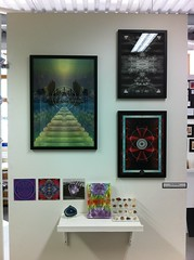 Final Major Project Display (TommBentley) Tags: new sky black reflection london art collage illustration clouds vintage garden photography volcano pattern colours bright shapes inspired covent mirrored colourful dots own mysteries invert fmp inventive patternonpattern imageinsideanimage