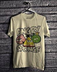 Angry Sponge - Light Cream (everydayshirt) Tags: indonesia tshirt gift kaos distro everydayshirt